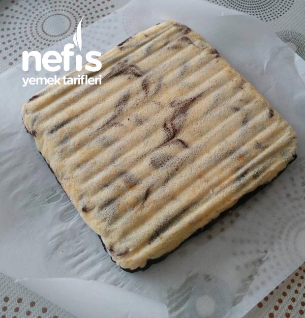 Rulo Kasırga Kek (namı diğer güneş kek )