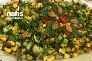 Bezelyeli Şifa Salatası Tarifi