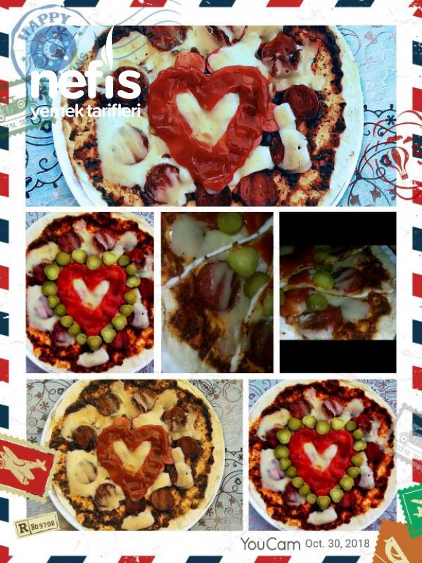 Carasau Pizza (Lavaş Pizza)