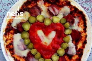 Carasau Pizza (Lavaş Pizza) Tarifi