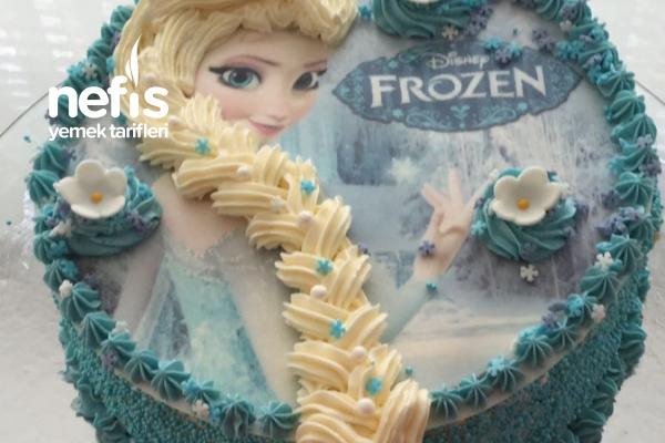 Buz Kraliçe Elsa Pastası Tarifi