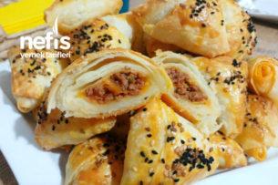 Dışı Çıtır Çıtır İçi Yumuşacık Muska Böreği (İster Kıymalı Harçla İster Lorlu Patatesli) Tarifi