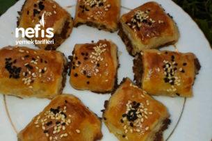El Açması Kat Kat Kıymalı Börek (Milföy Tadında) Tarifi