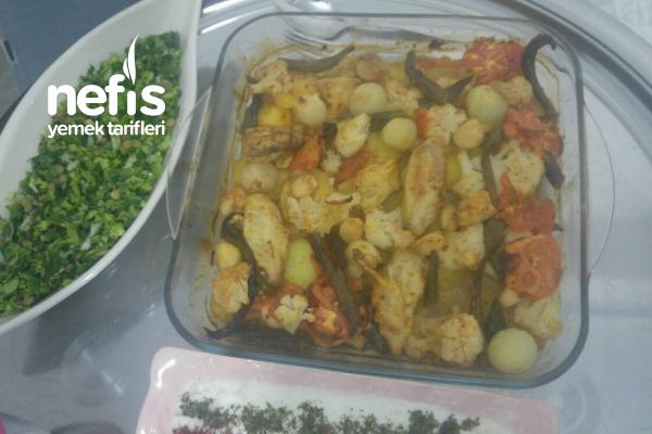 Karnabaharlı Fırında Patates Tarifi
