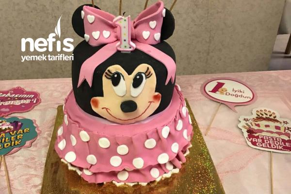 Minnie Mouslu Pasta Tarifi