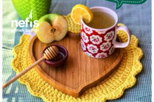 Öksürük Ve Hırıltı İçin Elma Çayı ( 12 Ay) (Yetişkinlerde Tüketebilir) Tarifi