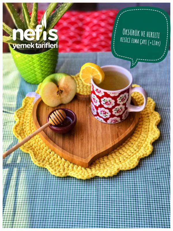 Öksürük Ve Hırıltı İçin Elma Çayı (+12ay) (yetişkinlerde Tüketebilir)