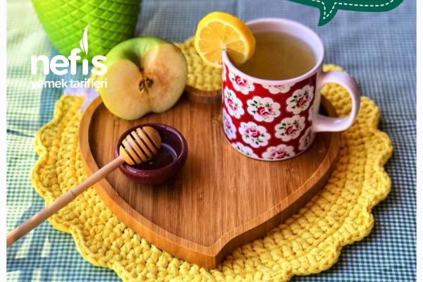Öksürük Ve Hırıltı İçin Elma Çayı (+12 Ay) (Yetişkinlerde Tüketebilir)