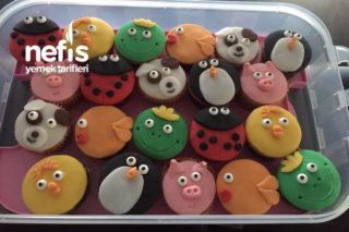 Sevimli Hayvancık Muffinlerim Tarifi
