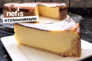 Cheescake (Fromage Blanc) Veya Käseküchen Tarifi