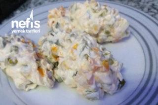 Rus Salatası 5 Dakika Da Tarifi