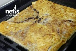 Tavuk Kıymalı Mantarlı Börek (Kanlıca) Tarifi