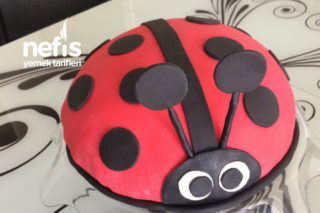 Uğur Böceği Doğum Günü Pastası Tarifi