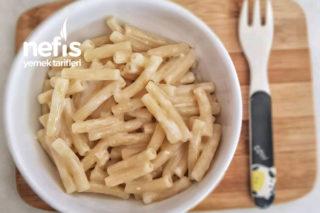 Sütlü Ve Peynirli Makarna (Bebekler İçin) 12+ Tarifi