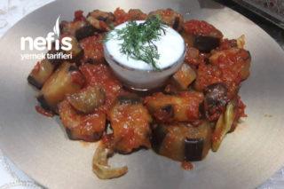 Domates Soslu Patlıcan Kızartması (1 Çay Bardağı Sıvı Yağı İle) Tarifi