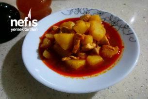 Tavuklu Patates Sulusu Tarifi