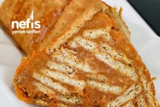 Bal Kabaklı Piramit Pasta Tarifi