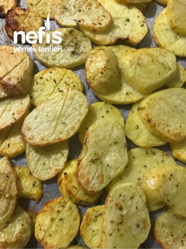 Fırında Jambonlu Bol Peynirli Patates