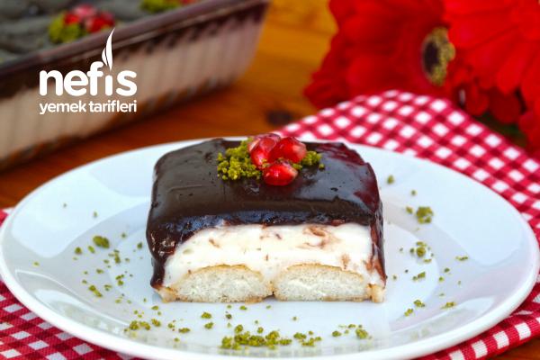 Diyet Bozduran Kremalı Kedidili Pastası (videolu) Tarifi