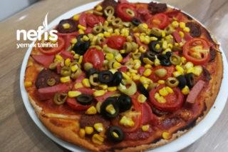 Pizza ( İnce Hamur) Tarifi