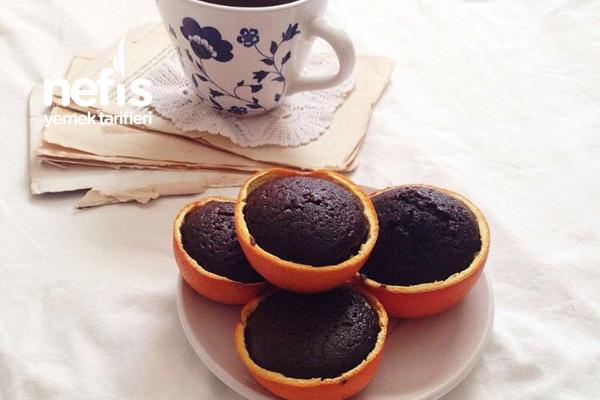 Portakal Çanağında Kek Tarifi