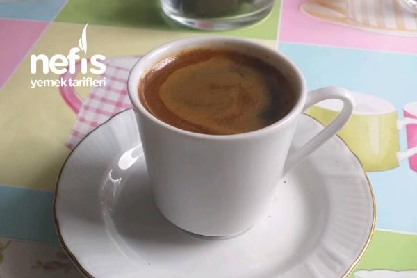 Aromalı Türk Kahvesi Tarifi