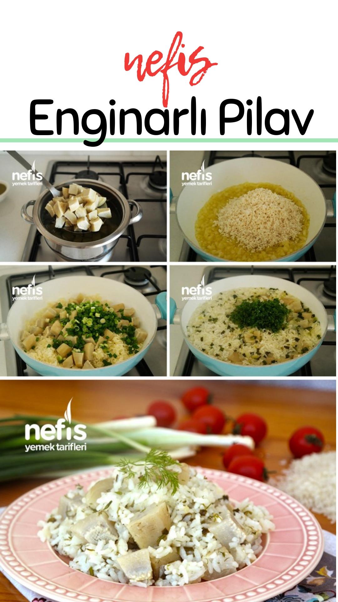 Enginarlı Sebze Yemeği Videosu