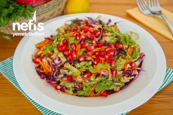 Karışık Kış Salatası (videolu) Tarifi