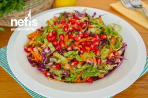 Kış Salatası Nasıl Yapılır? (videolu)