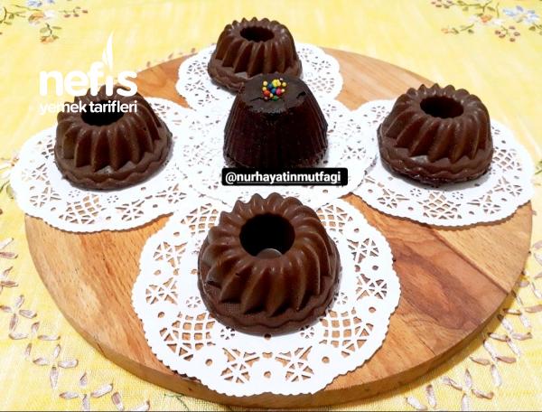 Çikolata Kaplamalı Mini Mozaik Pasta
