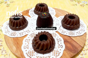 Çikolata Kaplamalı Mini Mozaik Pasta Tarifi
