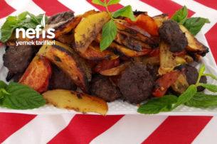 Fırında Köfte Patates (köfte Harcı Harika) Tarifi