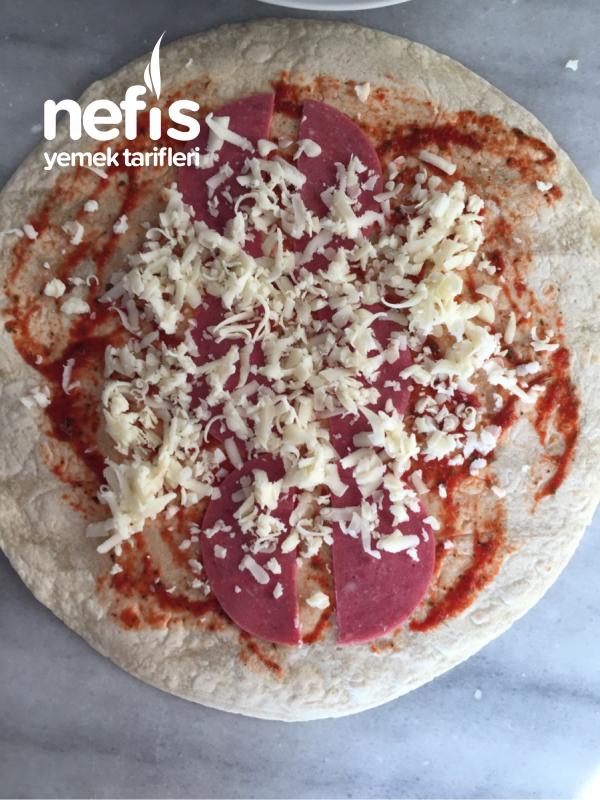 Lavaş Gözleme (pizza Tadında)
