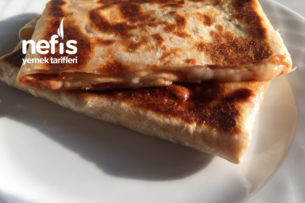 Lavaş Gözleme (Pizza Tadında) Tarifi