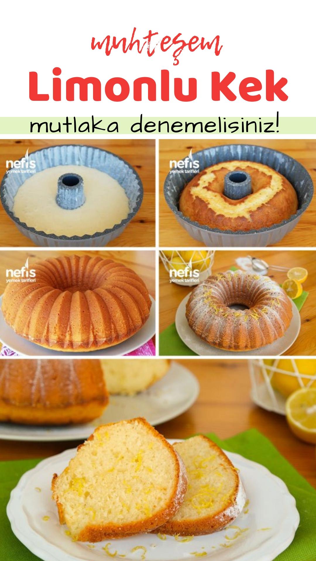 Üzümlü Cevizli Limonlu Kek Yapılışı Videosu