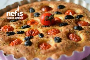 Fokaça Ekmeği (Focaccia) Tarifi