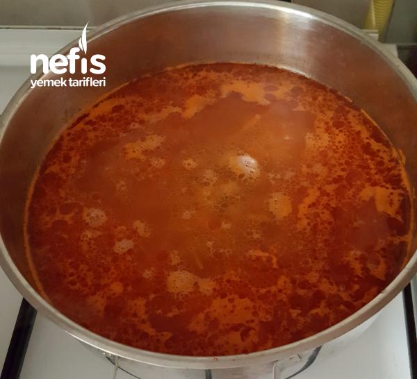 Klasik Topçata Çorbası (supa Topçata)