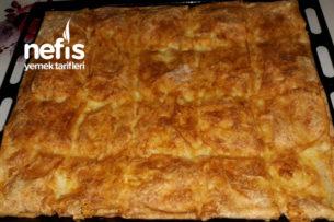 Peynirli Tepsi Böreği (Sodalı) Tarifi