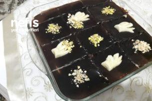 Ev Yapımı Muzlu Pudingli, Bisküvili Pastam Tarifi