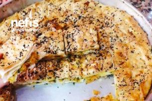 Patatesli Tepsi Böreği (Hazır Yufkadan) Tarifi