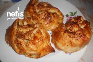 Beyaz Ve Lor Peynirli Çıtır Gül Böreği Tarifi