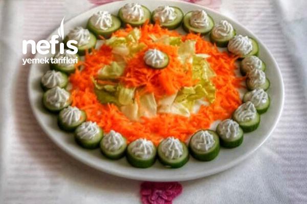 Süslü Salatalık Tarifi