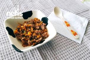 Kıymalı Sebzeli Bulgur Pilavı (10  ) Tarifi