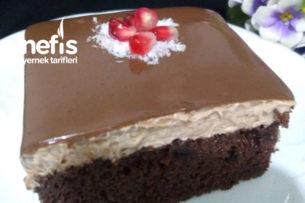 Duble Çikolatalı Pasta Tarifi