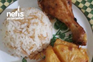 Fırında Soslu Patates Ve Tavuk Tarifi