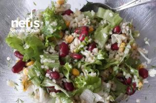 Kilo Verdiren Diyet Salata Tarifi