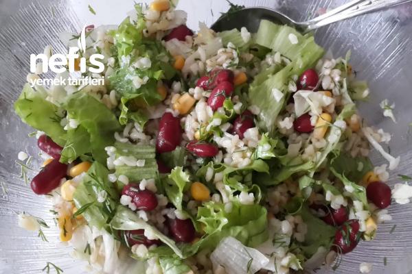 Kilo Verdiren Diyet Salata