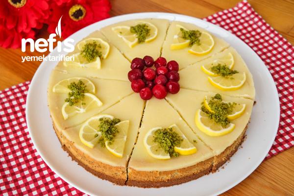 Limonlu Haşhaşlı Cheesecake