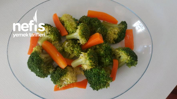 Olay Soslu Diyete Uygun Brokoli Salatası