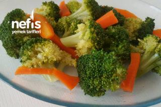 Olay Soslu Diyete Uygun Brokoli Salatası Tarifi
